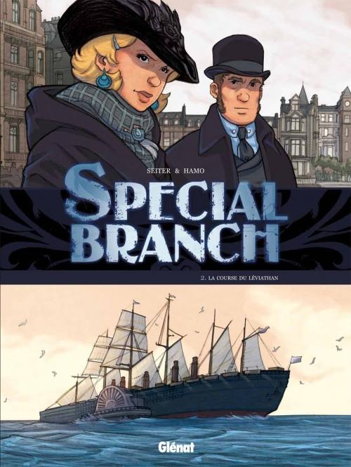 Couverture Special Branch, tome 2 : La course du Léviathan
