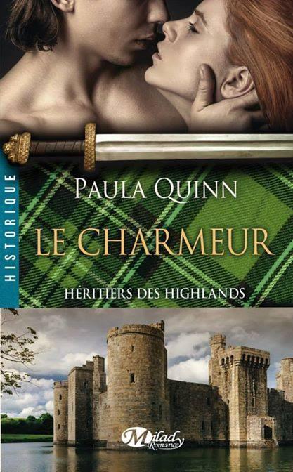 Couverture Héritiers des Highlands, tome 2 : Le charmeur