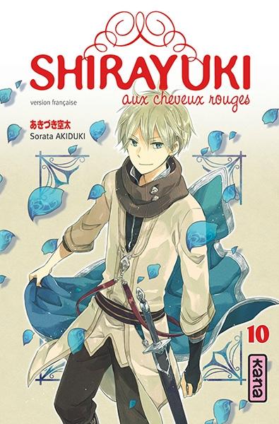 Couverture Shirayuki aux cheveux rouges, tome 10