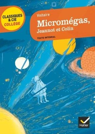 Couverture Micromégas, Jeannot et Colin