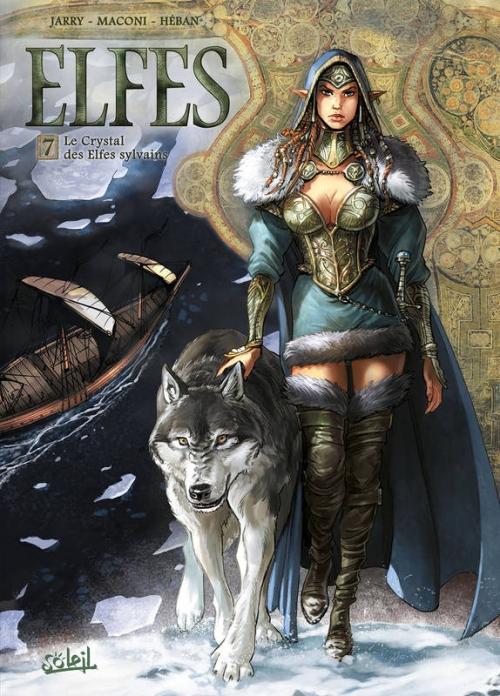 Couverture Elfes, tome 07 : Le crystal des elfes sylvains