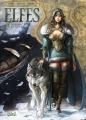 Couverture Elfes, tome 07 : Le crystal des elfes sylvains Editions Soleil 2014