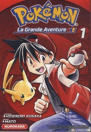 Couverture Pokémon : La grande aventure, tome 1