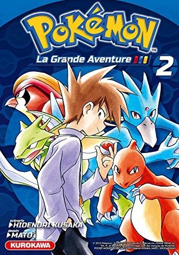 Couverture Pokémon : La grande aventure, tome 2
