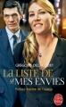 Couverture La liste de mes envies Editions Le Livre de Poche 2014