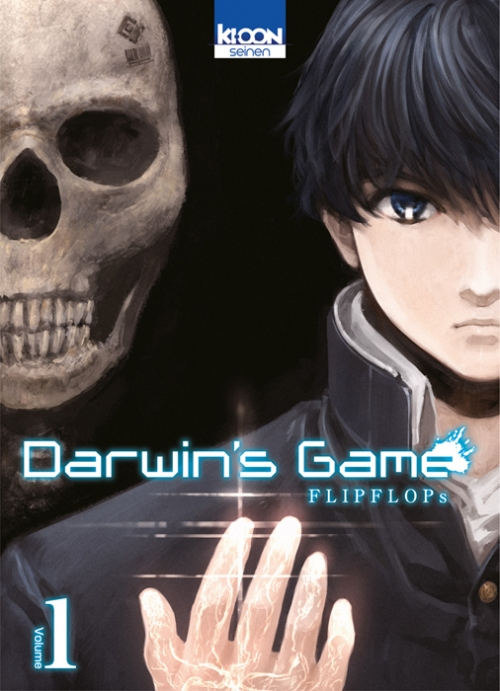 Couverture Darwin's Game, tome 01