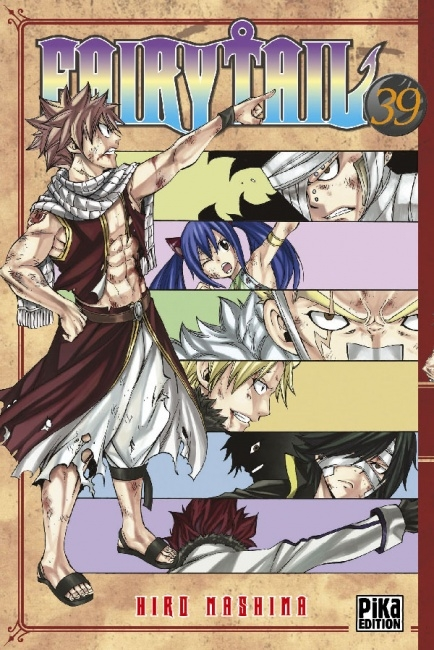Couverture Fairy Tail, tome 39