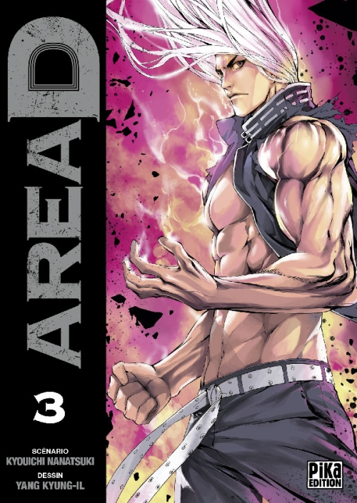 Couverture Area D, tome 03