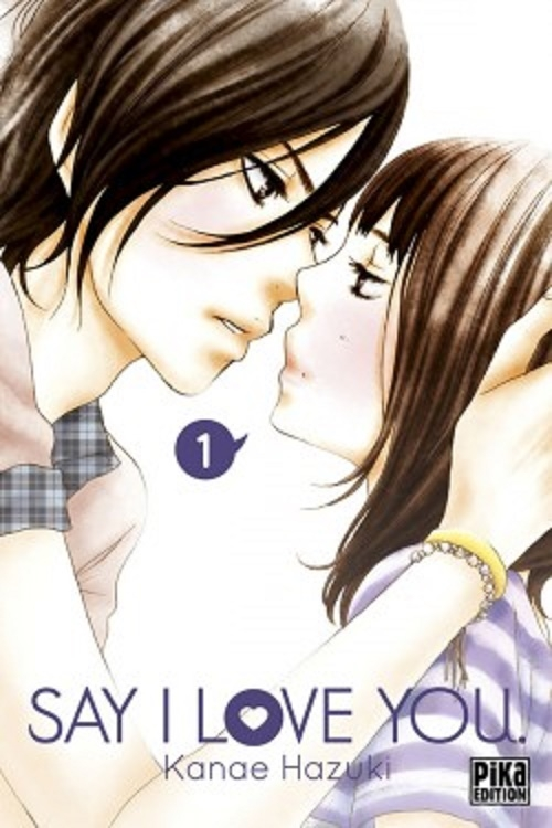 Couverture Say I Love You, tome 01