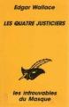Couverture Les quatre justiciers Editions du Masque 1993