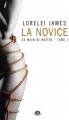 Couverture De main de maître, tome 1 : La novice Editions Milady (Romantica) 2014