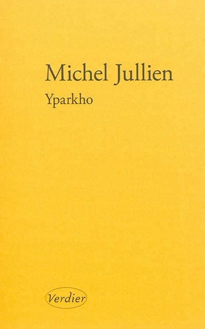 Couverture Yparkho
