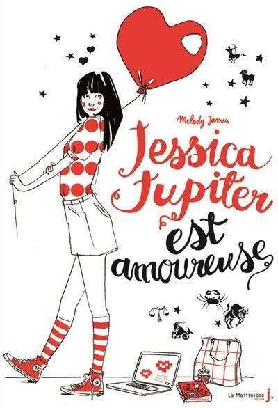Couverture Jessica Jupiter, tome 4 : Jessica Jupiter est amoureuse