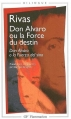 Couverture Don Alvaro ou la Force du destin Editions Flammarion (GF - Bilingue) 2002