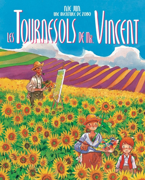 Couverture Zobo et les fleurs de vie, tome 2 : Les tournesols de M. Vincent