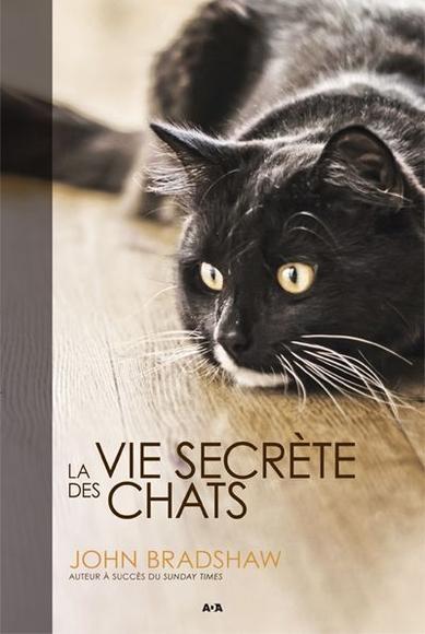 Couverture La vie secrète des chats