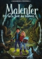 Couverture Malenfer, tome 1 : La forêt des ténèbres Editions Flammarion (Jeunesse) 2014