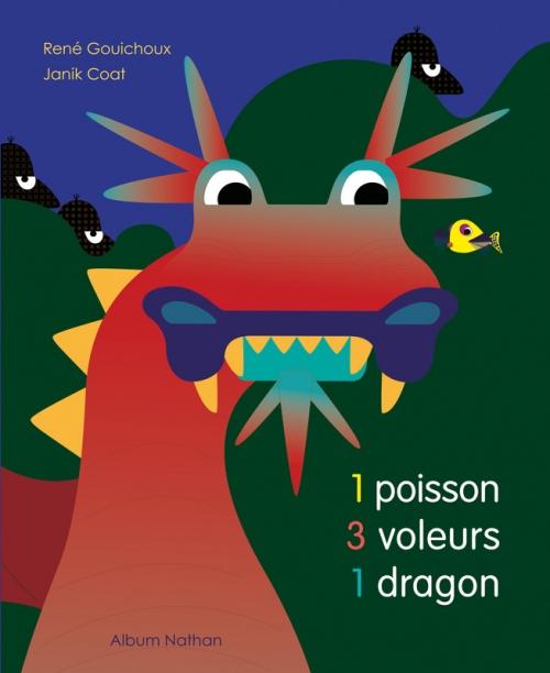 Couverture 1 poisson 3 voleurs 1 dragon