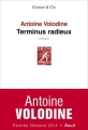 Couverture Terminus radieux Editions Seuil 2014