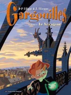 Couverture Gargouilles, tome 1 : Le voyageur