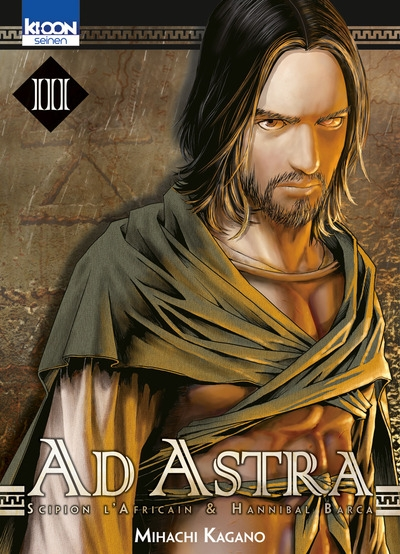 Couverture Ad Astra, Scipion l'africain & Hanibal Barca, tome 03