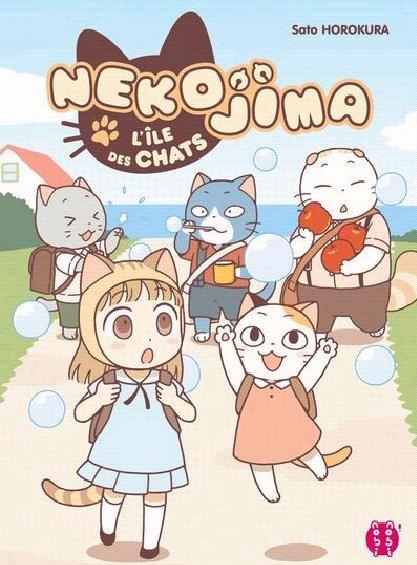 Couverture Nekojima, l'île des chats