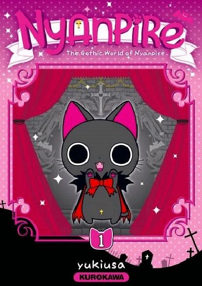 Couverture Nyanpire, the gothic world of Nyanpire, tome 1