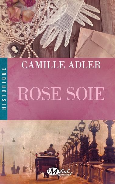 Couverture Rose soie