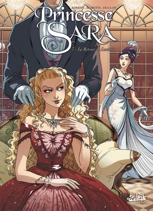 Couverture Princesse Sara, tome 07 : Le retour de Lavinia
