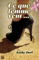 Couverture Ce que femme veut... Editions Hélène Jacob 2013