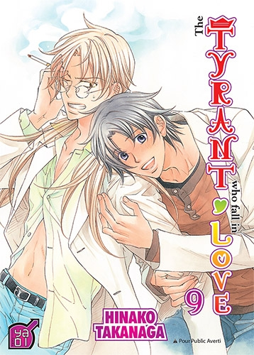 Couverture The tyrant who fall in love, tome 09