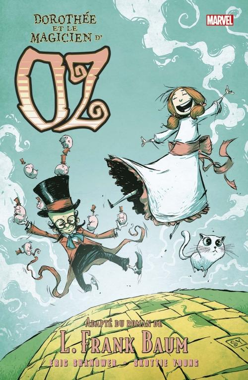 Couverture Oz (comics), tome 4 : Dorothée et le magicien d'Oz
