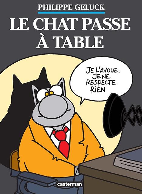 Couverture Le chat, tome 19 : Le chat passe à table