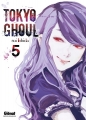 Couverture Tokyo Ghoul, tome 05 Editions Glénat 2014