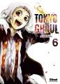 Couverture Tokyo Ghoul, tome 06 Editions Glénat 2014