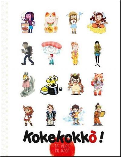 Couverture Kokekokko : 16 vues du Japon