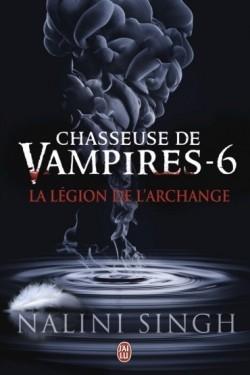 Couverture Chasseuse de vampires, tome 06 : La légion de l'archange