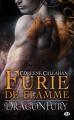 Couverture Dragonfury, tome 1 : Furie de flamme Editions Milady (Bit-lit) 2014