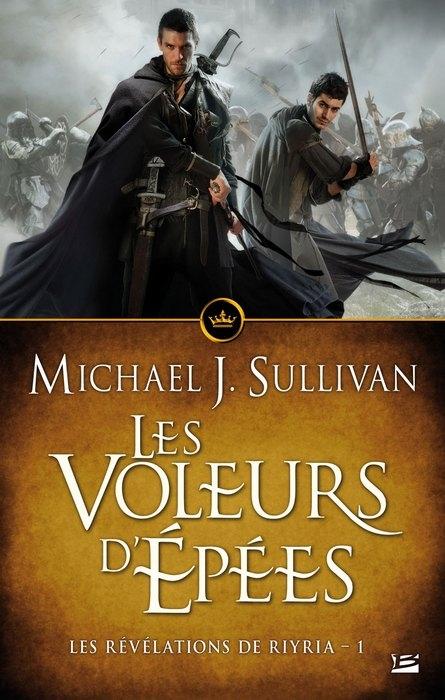 Couverture Les Révélations de Riyria, tomes 1 et 2 : Les voleurs d'épées