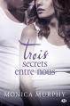 Couverture Drew Fable, tome 3 : Trois secrets entre nous Editions Milady 2015