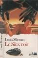 Couverture Le silex noir Editions Folio  1984