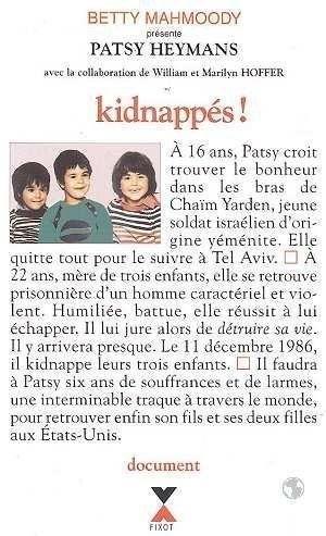 Couverture Kidnappés !