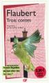 Couverture Trois contes Editions Flammarion (GF) 2009