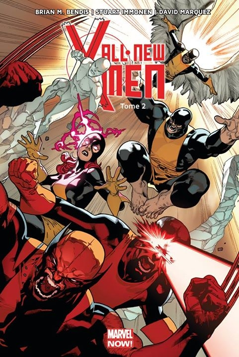 Couverture All-New X-Men (Marvel Now), tome 2 : Choisis ton camp