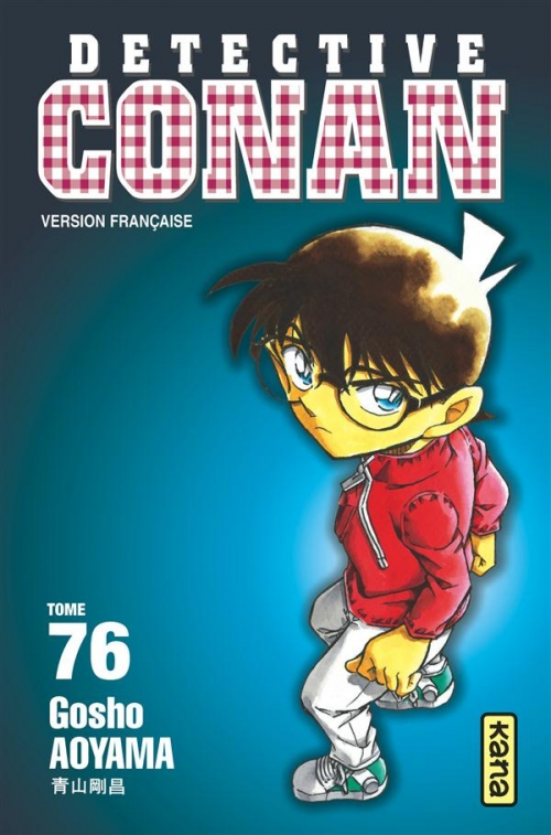 Couverture Détective Conan, tome 76