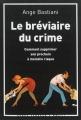 Couverture Le Bréviaire du crime Editions L'arbre vengeur 2013
