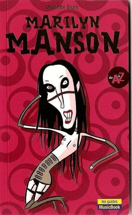 Couverture Marilyn Manson de A à Z