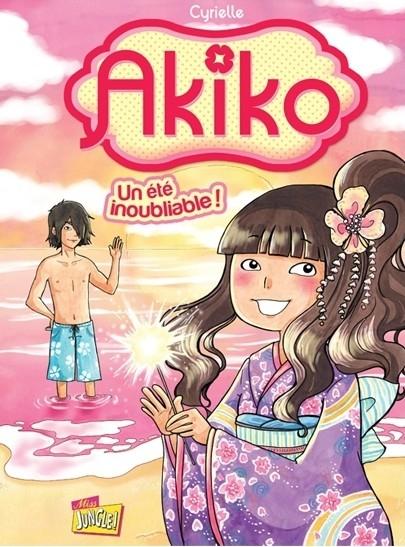 Couverture Akiko, tome 2 : Un été inoubliable !