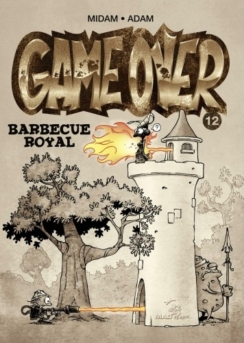 Couverture Game over, tome 12 : Barbecue royal