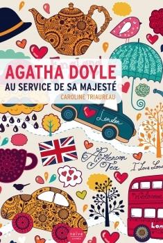 Couverture Agatha Doyle au service de Sa majesté